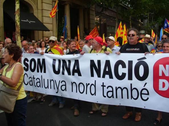Manifestació multitudinària a barcelona 10 de juliol del 2010