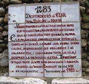 làpida d'Elna